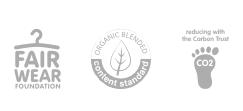 Fair Wear , Organic blendedn reducing CO2