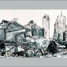 Panoramic postcards - Din L