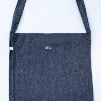 verso- Tote Sling bag grey recycled, Laeti-Berlin