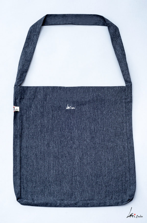verso- Tote Sling bag grey recycled, Laeti-Berlin
