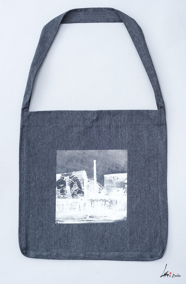 tote sling bag recycled Cuvrystr., grey