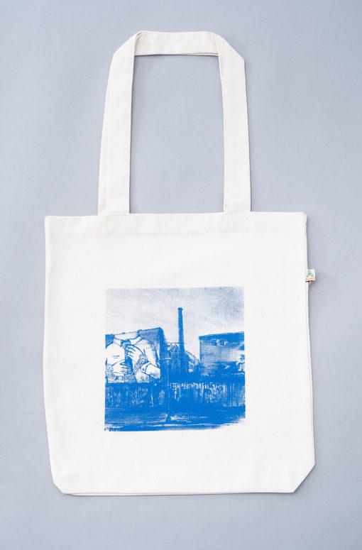Tote bag recycled Cuvrystr. natural Laeti-Berlin