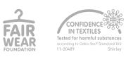 Logos Fair Wear-Confidence Textiles- N88