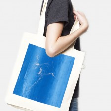 Tote bag recycled Electric Dancer natural Laeti-Berlin