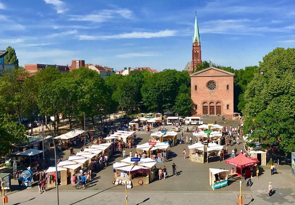 Foto Weddingmarkt-Leopoldplatz, Berlin-Wedding