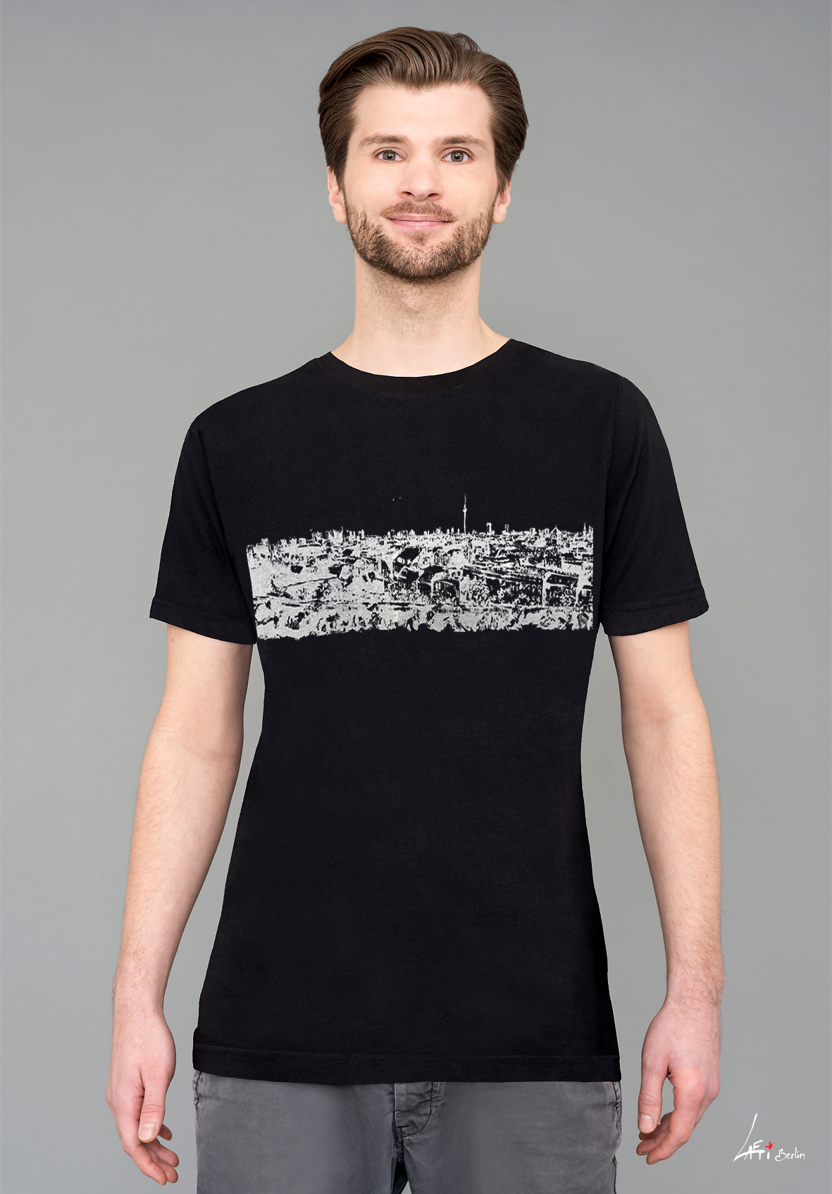 t shirt black man panorama berlin klunkerkranich. Black Bedroom Furniture Sets. Home Design Ideas