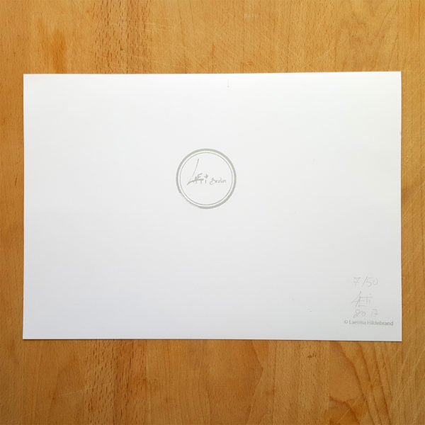 Verso Poster A4-limited & signed